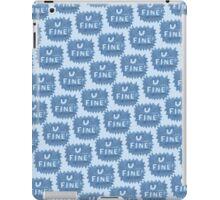 U FINE! iPad Case/Skin