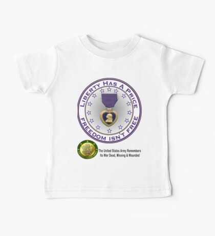 Army Remembers (light colors) Baby Tee