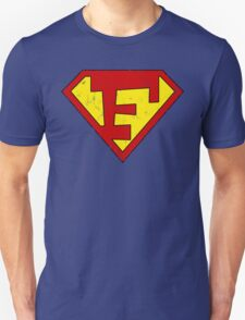 Superman F Letter Unisex T-Shirt