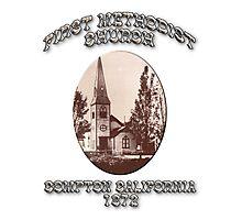 Compton Methodist Church Photographic Print
