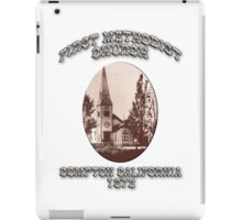 Compton Methodist Church iPad Case/Skin