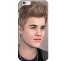 JUSTIN BIBIER paint iPhone Case/Skin