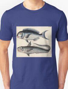 Naturgeschichte in Bildern mit erläuterndem Text E Strack 1820 Lief 4 Fish 048 T-Shirt