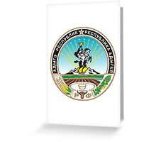 Coat of Arms of Adygea Greeting Card