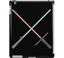 Kylo Ren and Rey Lightsabers iPad Case/Skin