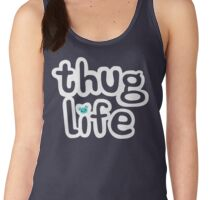 The Cute Thug Life Women's Tank Top