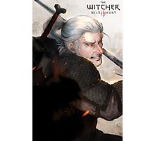 Geralt The Witcher FanArt Photographic Print