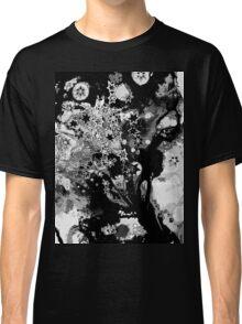 Starburst - Variation in Black Monotone Classic T-Shirt