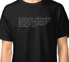 Invalid Memory-White Classic T-Shirt