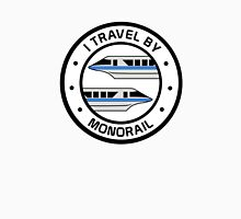 MonorailCircleTravelBlue Unisex T-Shirt