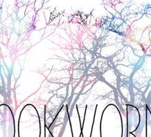 Bookworm Tree Sticker