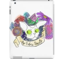 Age before Beauty iPad Case/Skin