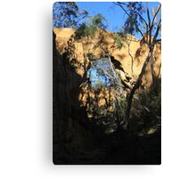 Arch at Golden Gully Canvas Print