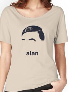 Alan Turing  (Hirsute History) Women's Relaxed Fit T-Shirt