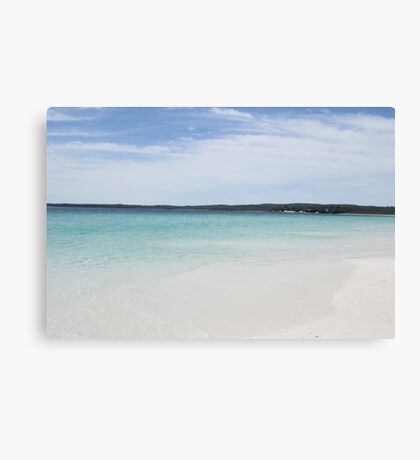 Hyams Beach- The whitest sand in the world Canvas Print