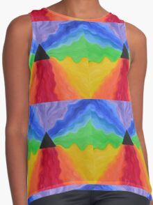 """""""Pure Energy"""" energy painting  Contrast Tank"""