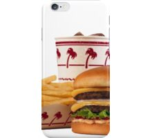 in-n-out aesthetic iPhone Case/Skin