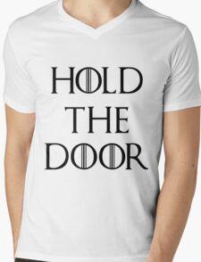 Hold The Door Mens V-Neck T-Shirt