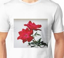Color Me Red Flowers Unisex T-Shirt