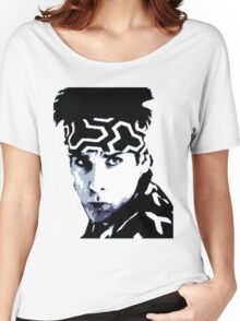 Awesome Zoolander - Blue Steel Magnum - Street art stencil - Popart Women's Relaxed Fit T-Shirt