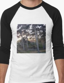 Presidio Drive By, SF Men's Baseball ¾ T-Shirt