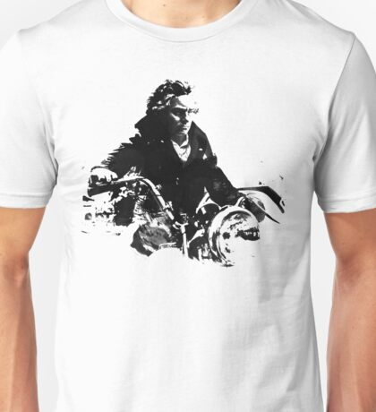 Beethoven Motorcycle Unisex T-Shirt