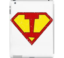 Superman I Letter iPad Case/Skin