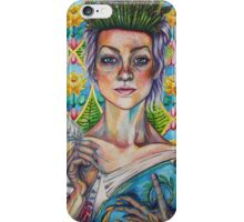 Asparagus Queen (Model: Emery Allen) iPhone Case/Skin