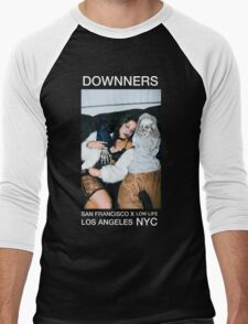 Baespice x Downners (Branded Tee) Men's Baseball ¾ T-Shirt