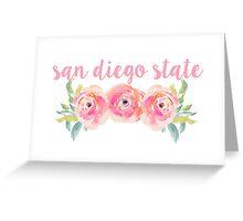 San Diego State University Greeting Card