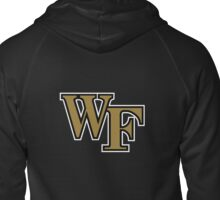 Wake Forest Athletic Logo - Go Deacs! Zipped Hoodie