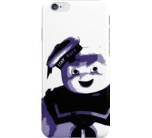 STAY PUFT MARSHMALLOW MAN - Ghostbusters - streetart stencil - Popart iPhone Case/Skin