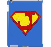 Superman J Letter iPad Case/Skin