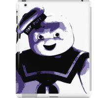 STAY PUFT MARSHMALLOW MAN - Ghostbusters - streetart stencil - Popart iPad Case/Skin
