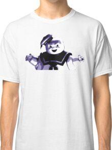 STAY PUFT MARSHMALLOW MAN - Ghostbusters - streetart stencil - Popart Classic T-Shirt