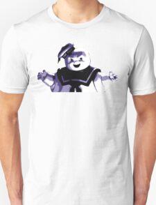 STAY PUFT MARSHMALLOW MAN - Ghostbusters - streetart stencil - Popart T-Shirt