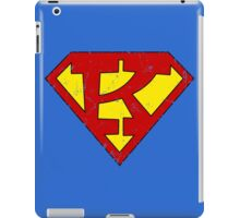 Superman K Letter iPad Case/Skin