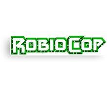 Robiocop - The Green Robocop Canvas Print