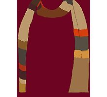 Doctor Who Scarf Photographic Print