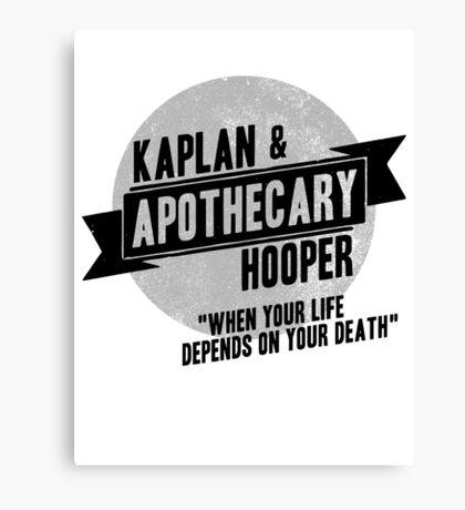 Kaplan & Hooper Apothecary Canvas Print