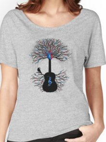 Rhythms of the Heart ~ Surreal Guitar Women's Relaxed Fit T-Shirt
