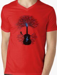 Rhythms of the Heart ~ Surreal Guitar Mens V-Neck T-Shirt
