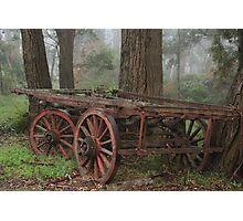 Wagon Wheels Photographic Print