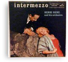 Intermezzo, Cheesecake cover lp Canvas Print