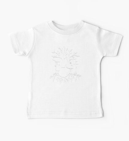 """""""Live the Beat to the Tempo of Creation"""" ~ drum tree art , version1 Baby Tee"""