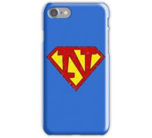 Superman N Letter iPhone Case/Skin
