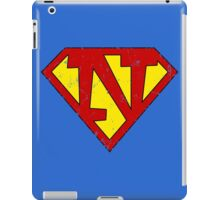 Superman N Letter iPad Case/Skin