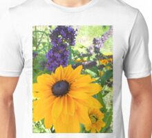 The purple and the Yellow... Unisex T-Shirt
