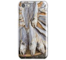 Dried fish iPhone Case/Skin