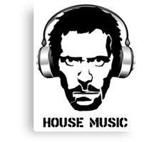 Dr House Music Canvas Print